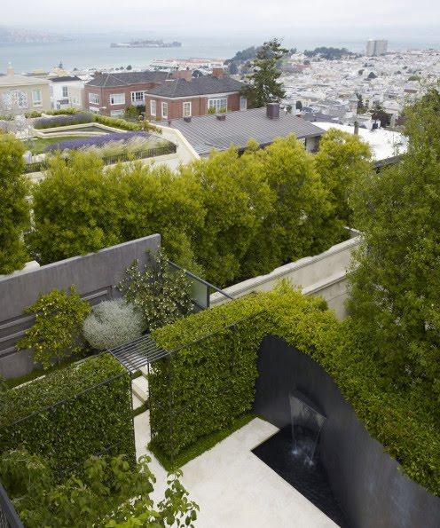 Residential garden design in san francisco for Residential garden design