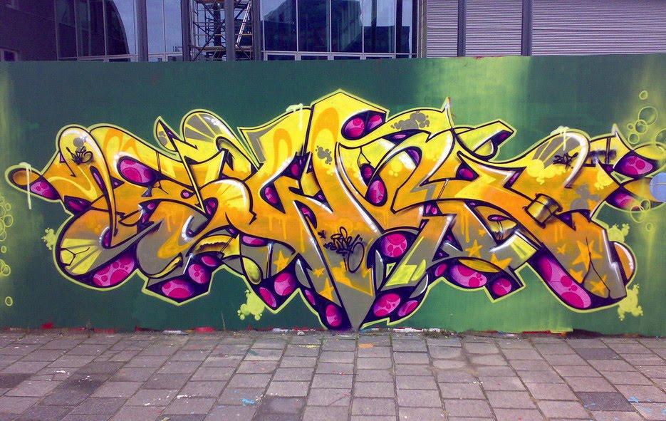 Graffiti Alphabet Stunning Colors Cool Style