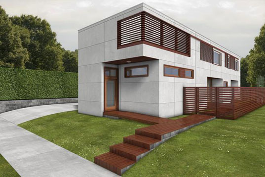 Modern Green Home Designs