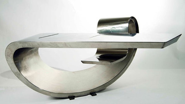 French Designer And Artist Max Ingrand Created This Combination Of Art And  Functional Design Back In 1966. Still Looking Modern, The Max Ingrand Desk  ...