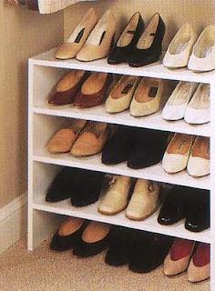 Trabajos y dise os en melamina muebles para guardar zapatos for Muebles de melamina para zapatos
