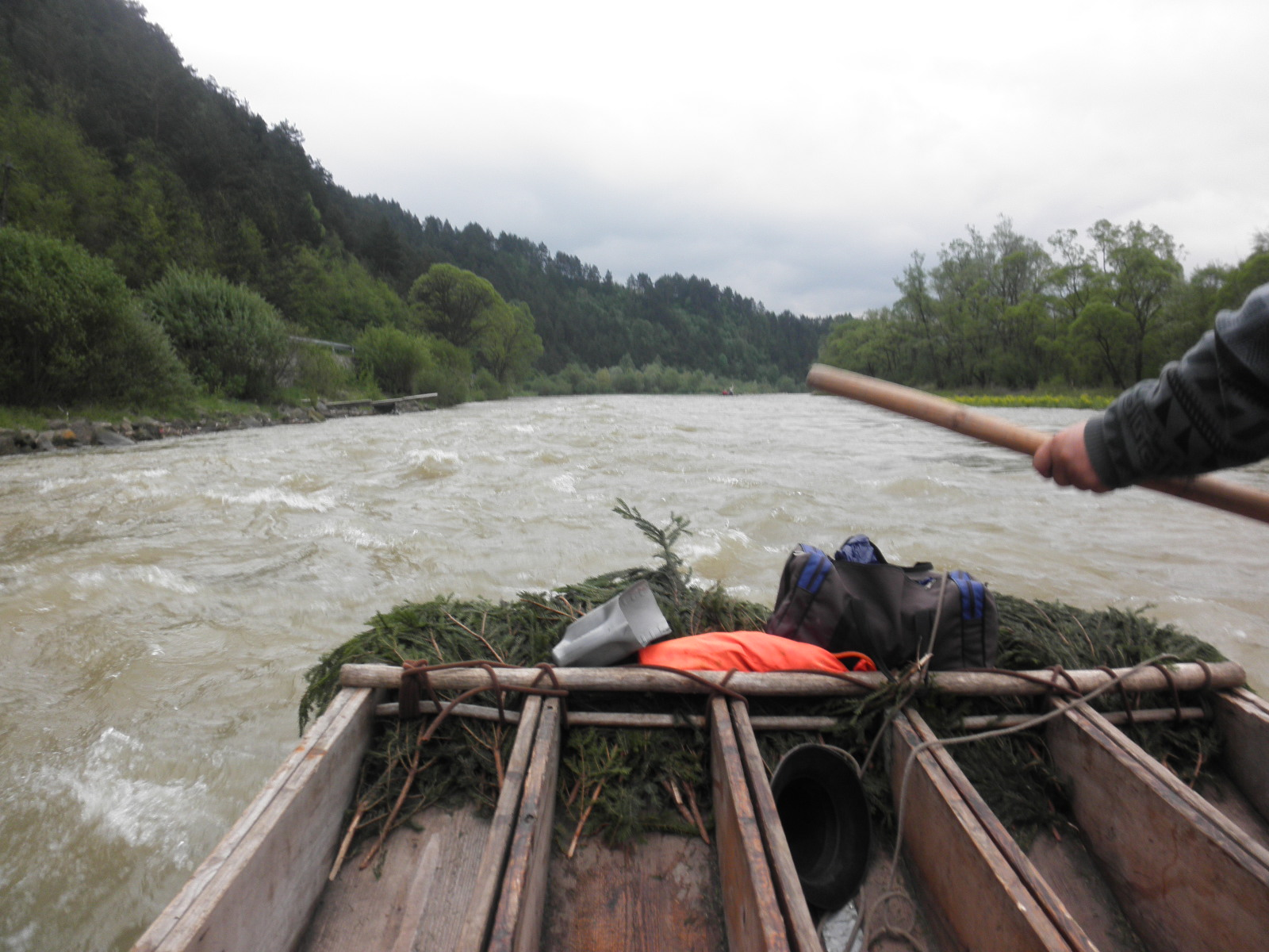 saturday may 15 the dunajec raft ride or splyw nad dunajcem is the last excursion for us it s one of the obligatory things to do when visiting the