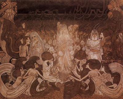 Les tres núvies (Jan Toorop)