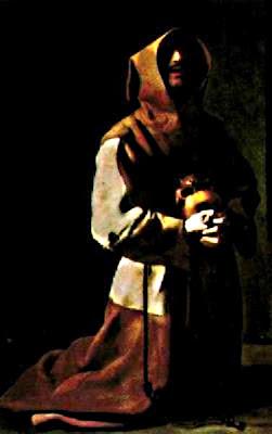Sant Francesc d'Assís en oració (Francisco de Zurbarán)