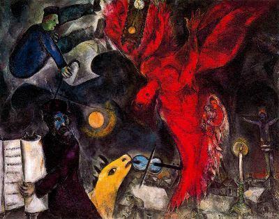 La caiguda de l'àngel (Marc Chagall)