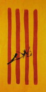 The Dalinian Senyera (Catalonian National Flag) - Salvador Dalí