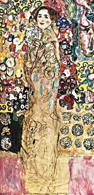 Retrat d'una dama (Gustav Klimt)