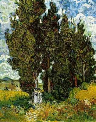 El passeig dels xiprers (Vincent van Gogh)