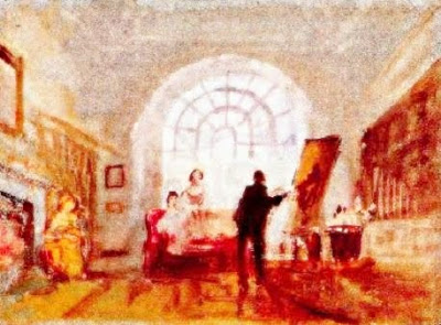 Petwort: L'artista i els seus admiradors (Joseph Mallord William Turner)