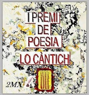 I PREMI DE POESIA LO CÀNTICH