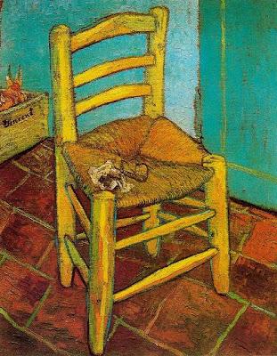 La cadira de Van Gogh (Vincent Van Gogh)