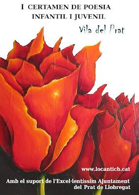 Cartell Certamen de Poesia Infantil i Juvenil Vila del Prat