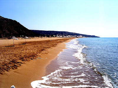 Cyprus beach, Mediterranean Sea