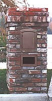 column mailbox or pillar mailbox