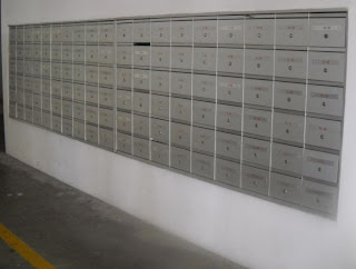 mailboxes for condominium