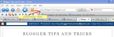 URL from address bar