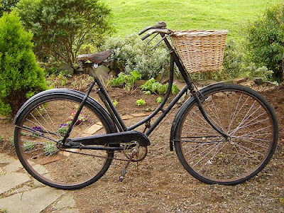 old classic Raleigh bicycle