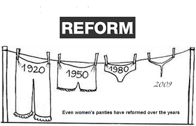 evolution of women's panties from 1920 to 2009