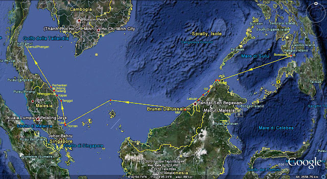 Across the South China Sea to Thailand