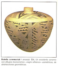 BOTELLA CEREMONIAL ANASAZI