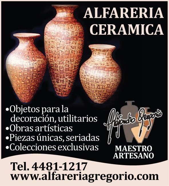 ARTESANÍA CERÁMICA ALEJANDRO GREGORIO