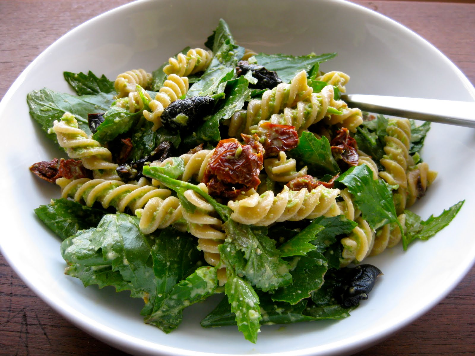 Hungry Bear Won't Dance: Garlic Scape Pesto with Lamb's Quarters ...