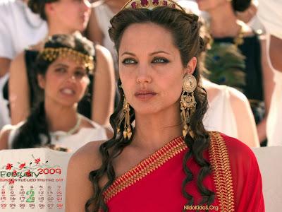 Angelina Jolie 2009 Calendar Angelina Jolie wallpapers 2 calendar 2009