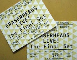 Eraserheads Final Set Concert Review