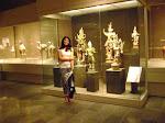 Figuras del Japon en el Museo de arte