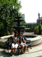 Mi sobrinita y yo en Washington