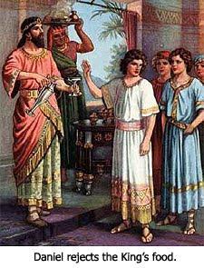 Daniel Rejects King's Food