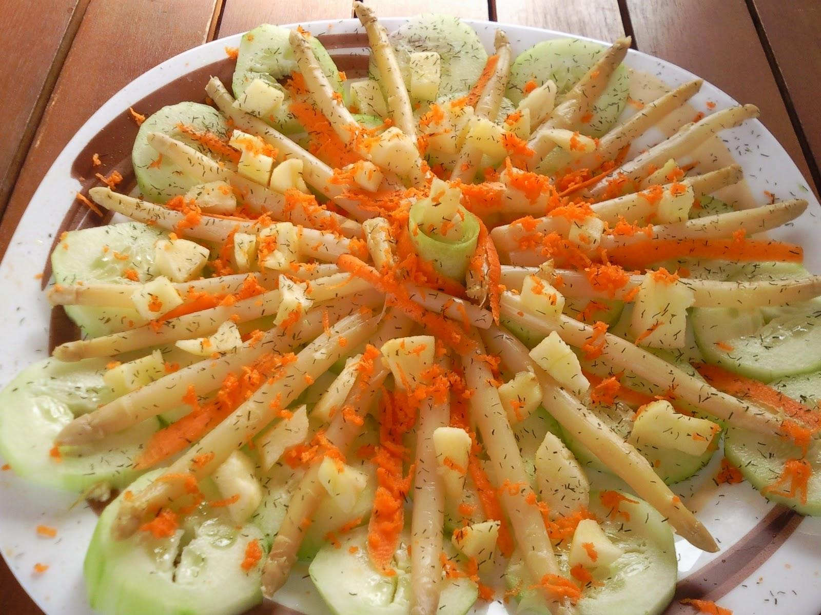 Las recetas de las mellizas ensalada de esparragos - Calorias boquerones en vinagre ...