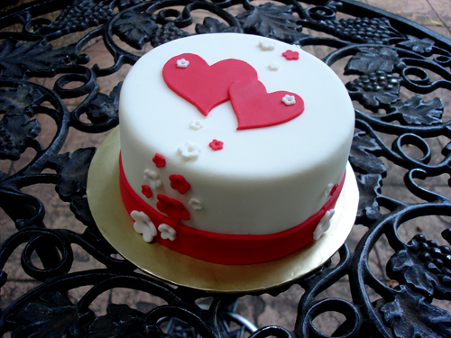 Decorating Ideas > Just Simple Nothing Special ♥ Im LOVE See Cake Design ~ 001710_Cake Design Ideas For Engagement