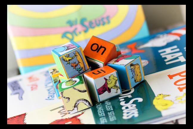 Dr. Seuss Puzzle Blocks