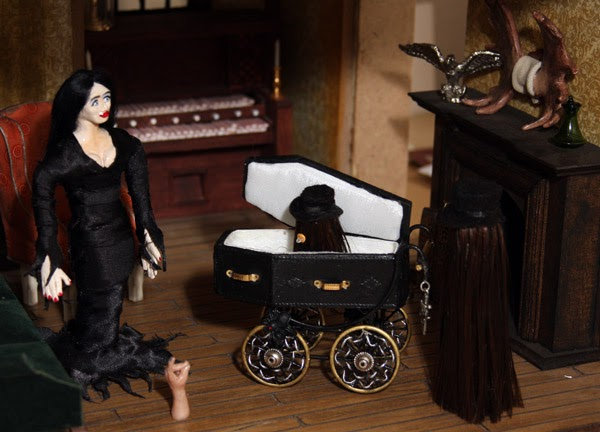 Addams Family Mini Mansion Swap With Kate Welcome To