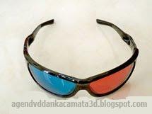 Kacamata 3D Plastik ASLI DAN KUALITAS BAGUS , Buat Main Game atau Nonton Film 3D, Harga @ 95.000,-
