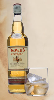 dewars, white-label, scotch