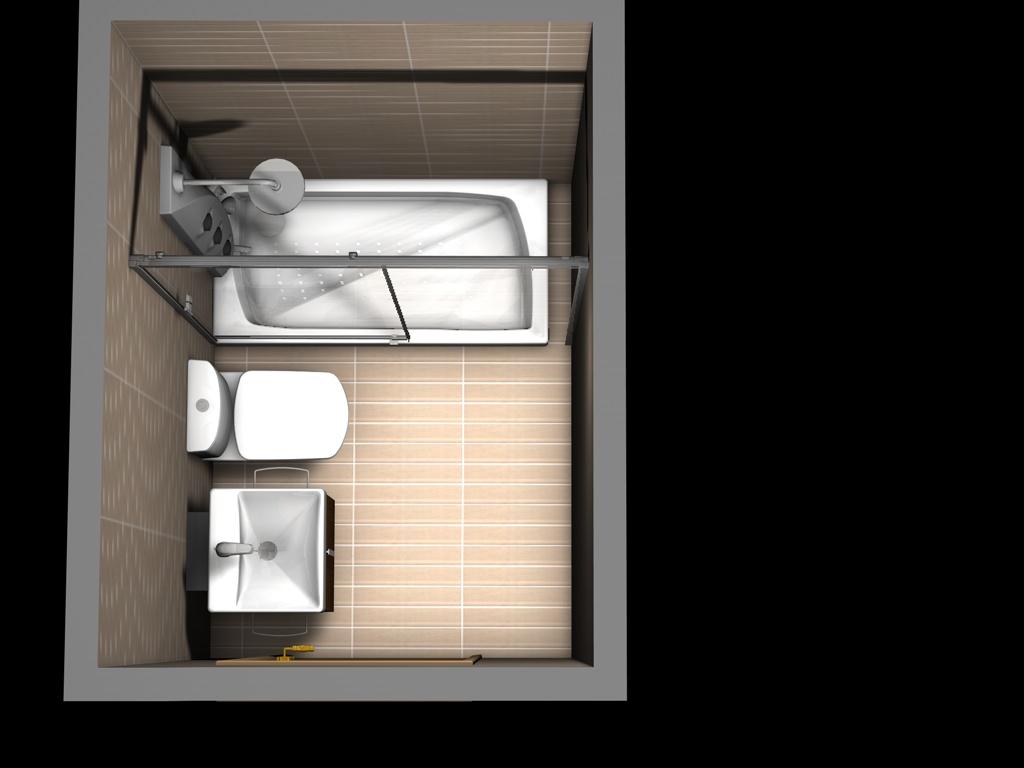 Puertas de aluminio para ba o interior for Banos con ducha grande