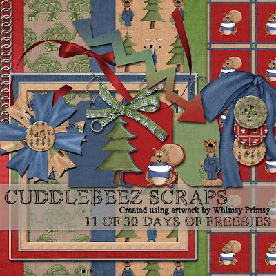 http://cuddlebeezscraps.blogspot.com/2009/07/11-of-30-days-of-freebies-those-of-you.html