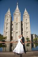 where we were married.