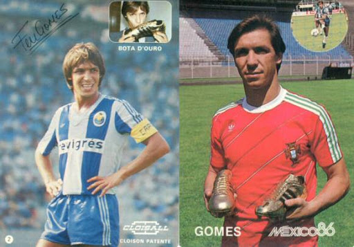 Fernando Gomes - bi-bota de ouro