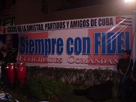 FELIZ CUMPLEAÑOS FIDEL!!