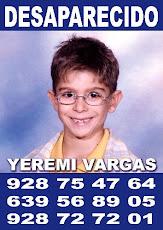 Yeremi José Vargas Desaparecido