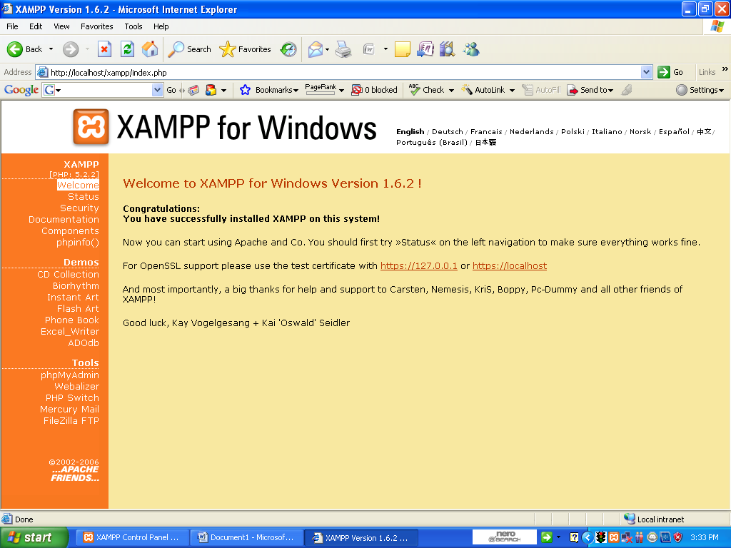 NERA cUte AbiEZZZZ: Membuat Database menggunakan XAMPP