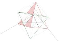 Axonometria Ortogonal da Stella Octangula