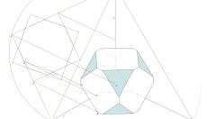 Axonometria Ortogonal de dois Arquimedianos
