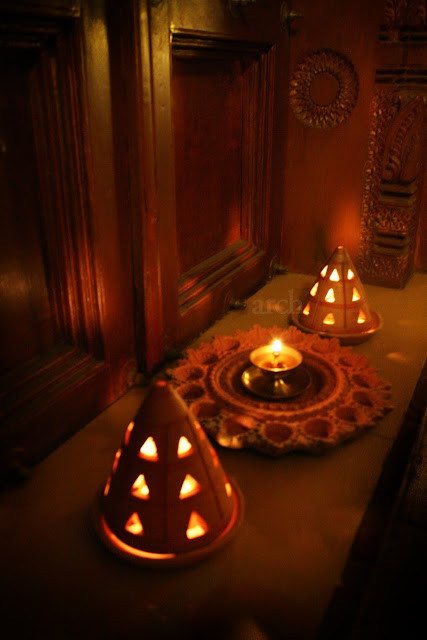 Rang decor interior ideas predominantly indian diwali at home Home decorations for diwali