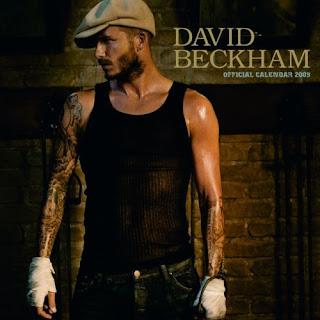 David Beckham Calendar 2009 1