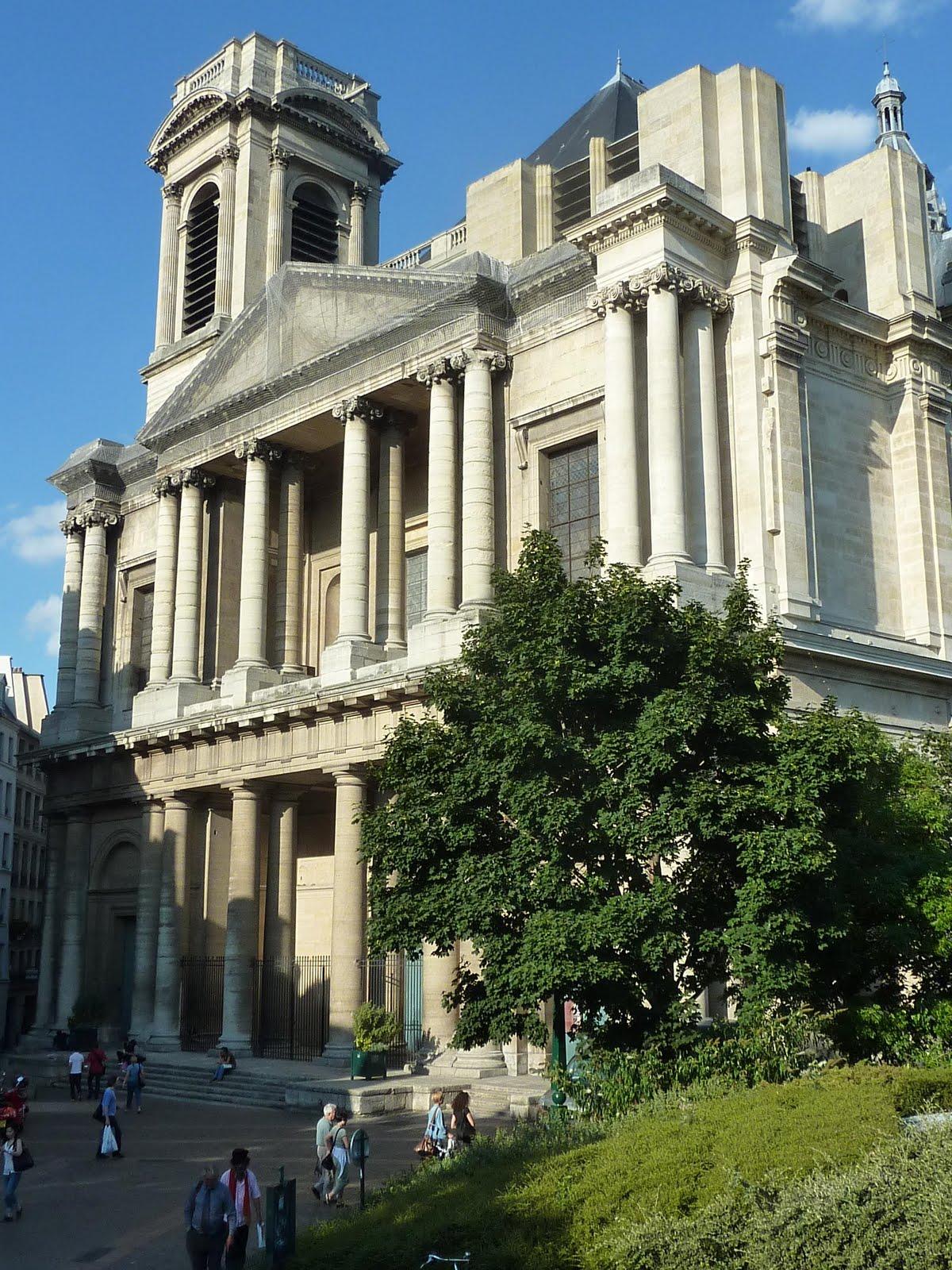 Les piliers des halles saint eustache et for Architecte st eustache