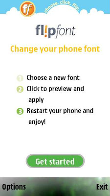 Note: If you want to uninstall the FlipFont application, Make sure you